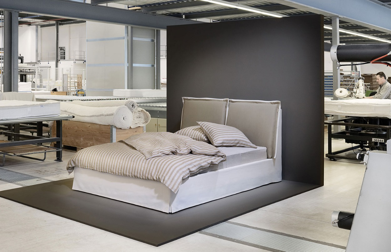 boxspringbetten voll im trend. Black Bedroom Furniture Sets. Home Design Ideas