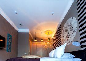 Schlafzimmer als Mittelpunkt