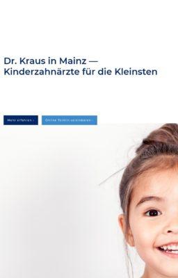 Dr. Kraus Kinderzahnarzt in Mainz
